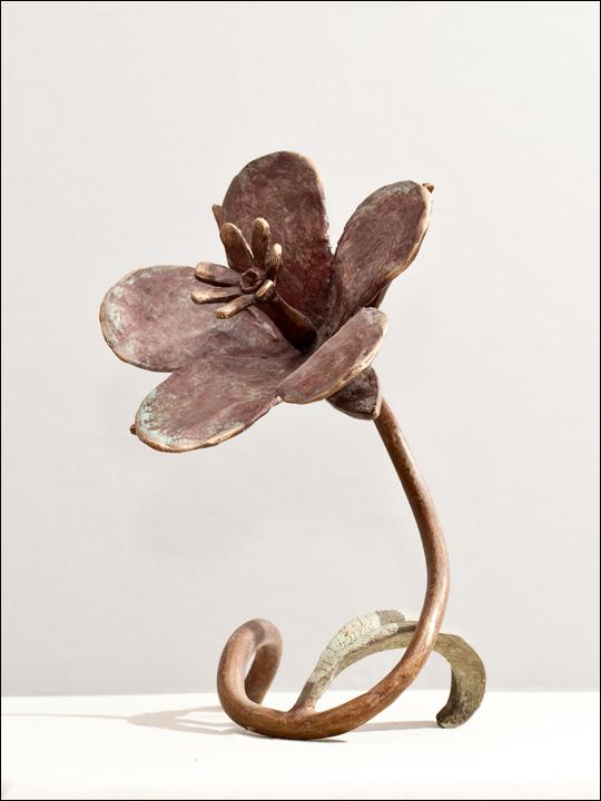 Flor de bronce. Flor 2.
