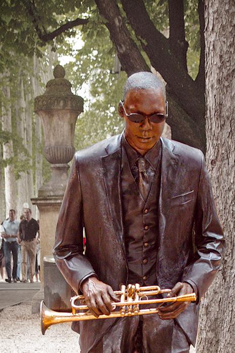 Fundición esculturas bronce. Winton Marsalis.