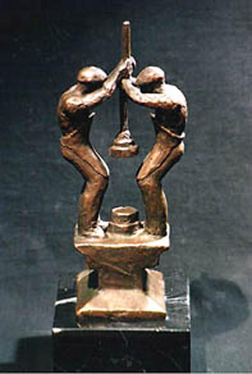 Trofeos bronce. Regallos empresa.
