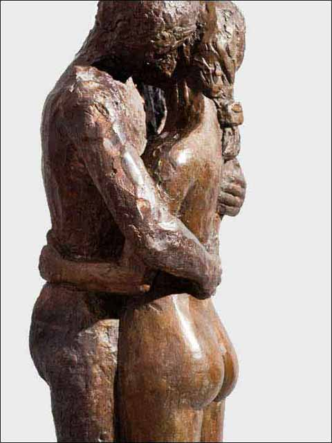 Esculturas decoracion. Abrazo 1