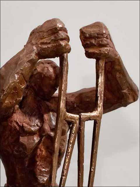 Bronce escultura. Layador-1