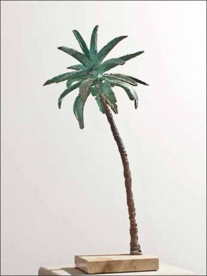 Palmera de bronce - esculturas de bronce - palmera 1