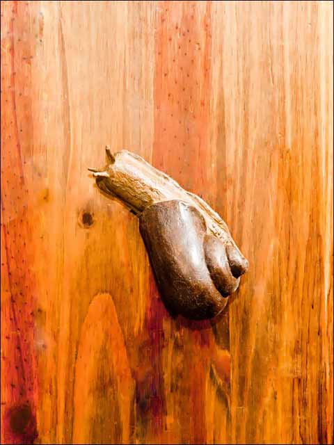 Pomos puertas. Pomo caracol -1
