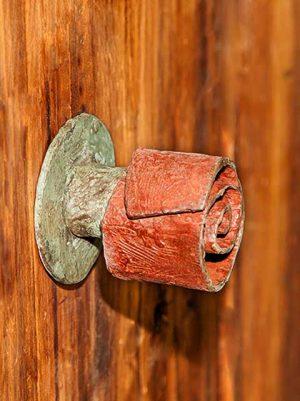 pomos puertas exterior. pomo rosa 1a