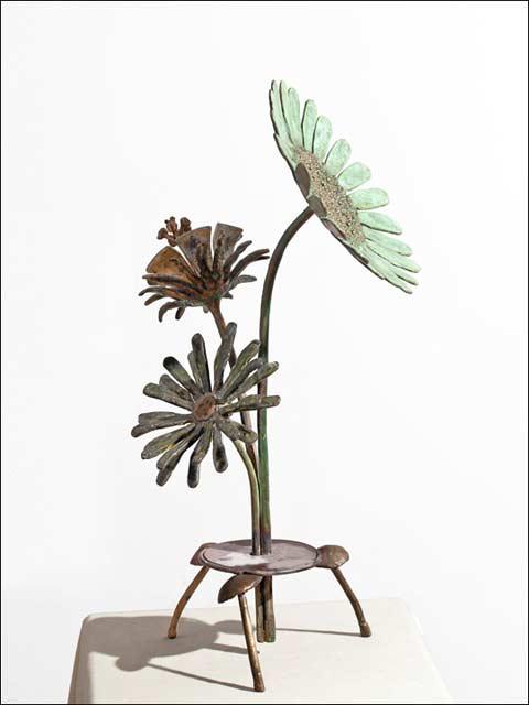 Esculturas de flores - Ramo de tres flores 2a