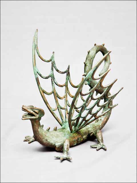 figuras de animales - Figuras de bronce - Dragón alado nº 4