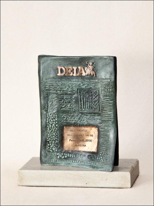 Trofeo de bronce 7. Periodico DEIA.