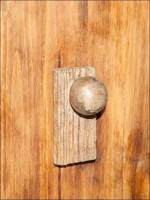 Pomos puertas - Pomo rústico 2