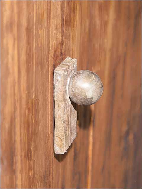 Pomos puertas - Pomo rústico